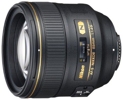 Nikon AF-S FX NIKKOR 85mm f/1.4G Lens