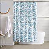AmazonBasics Laurels Shower Curtain