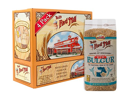 Bob's Red Mill Red Bulgur / Hard Wheat Ala, 28 Ounce (Pack of 4)