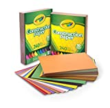 Crayola Construction Paper Bulk, 10 Colors, Great For Crafts, 480Count