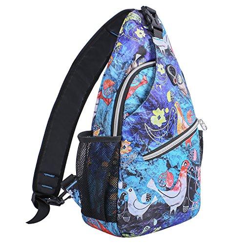 MOSISO Sling Backpack, Multipurpose Crossbody Shoulder Bag Travel Hiking...