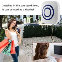 Seanme-Motion-Sensor-Alarm-Wireless-Driveway-Alarm-Home-Security-Business-Detect-Alert-with-4-Sensor-and-1-Receiver38-Chime-Tunes-LED-Indicators