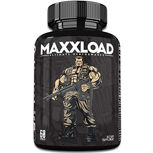 MAXXLOAD | Ultimate Male Pills (60 Capsules) - #1 Enlargement Booster for Men | Increase Energy, Mood, Size & Endurance | All Natural Performance Enhancing Supplement | 1 Month Supply