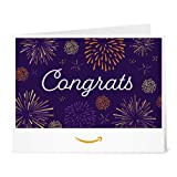 Amazon eGift Card - Print - Congrats Fireworks