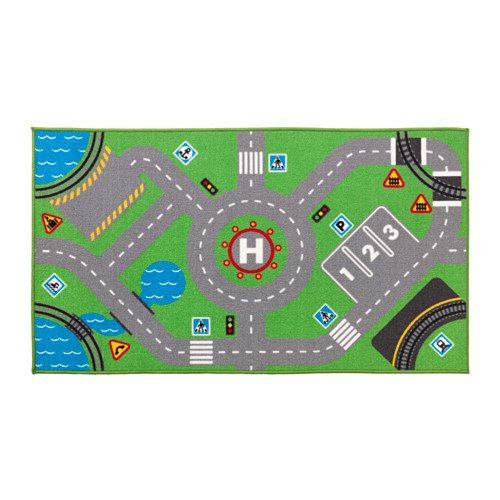 Ikea Play Mat Childrens Rug (storabo)