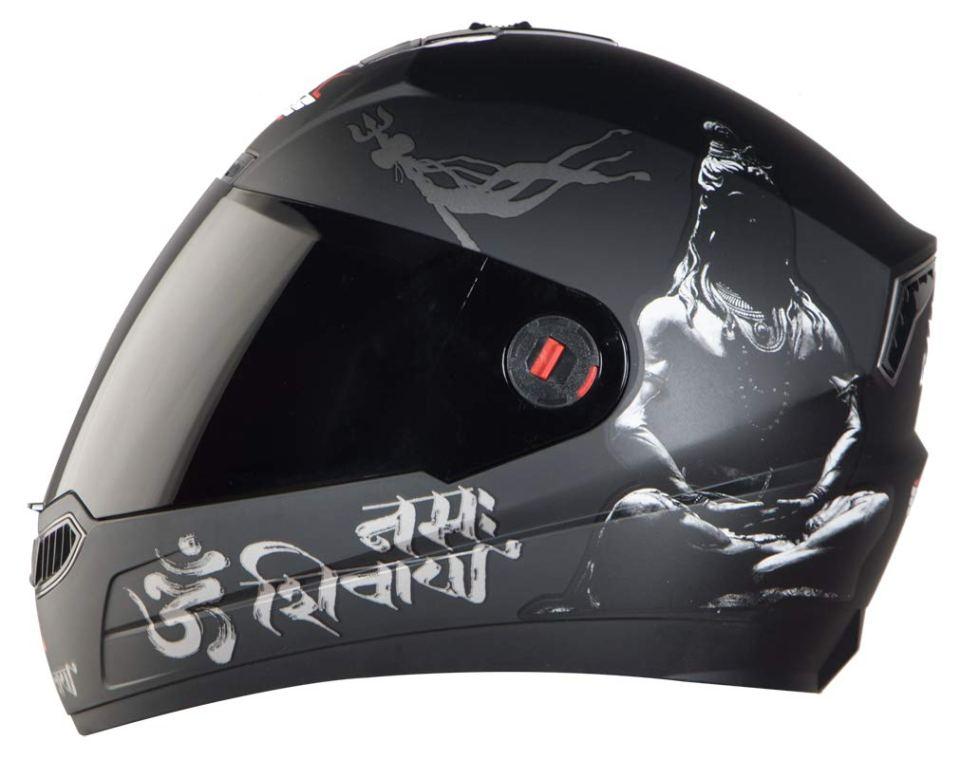 Steelbird SBA-1 Mahadev Full Face Helmet under Motorcycle Gadgets & Accessories