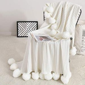 Throw with Pom Pom Fringe - Goldilocks Effect