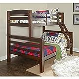 Powell D1046Y16 Bunk Bed, Twin/Full, Espresso