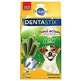 Pedigree Dentastix Fresh Small/Medium Treats For Dogs - 5 Oz. 9 Treats (Pack Of 7)