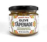 Trader Joe's Olive Tapenade with Kalamata & Chalikidiki Olives Spread 9.5 Oz. (Single)