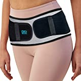 Sacroiliac Hip Belt for Women & Men That Alleviate Sciatica, Lower Back & Lumbar Pain Relief. Diamond Back Brace Provides SI Joint Pelvic Support Nerve Compression & Stability Anti-Slip (Regular Size)