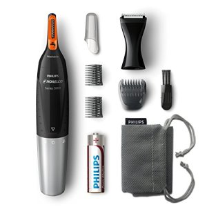 Philips Norelco NT5175/49, Nose Hair Trimmer 5100,Washable Mens Precision Groomer for Nose, Ears, Eyebrows, Neck, and… 3