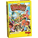 HABA Tiny Park - Risky Tile Laying Amusement Park Building Game (Made in Germany)