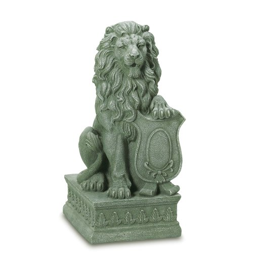 Gifts-Decor-Lion-Guardian-Crested-Shield-Home-Garden-Decor-Statue