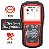 Autel AutoLink AL619 OBD2 Scanner ABS SRS Car Diagnostic Tool Turns Off Check Engine Light Code Reader