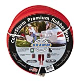 Dramm 17101 ColorStorm Premium Rubber Hose 5/8' x 25' X25', Red