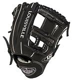 Louisville Slugger 11.25-Inch FG Pro Flare Baseball Infielders Gloves, Black, Right Hand Throw