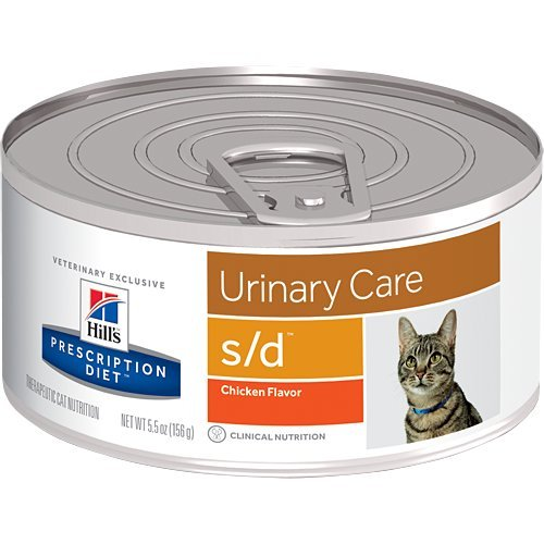 HILL'S Prescription Diet s/d Urinary Care Chicken Flavor Canned Cat Food 12/5.5 oz
