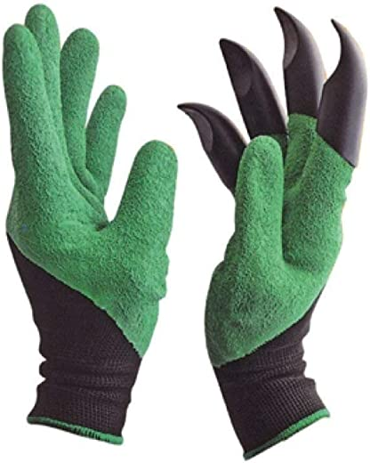 Tilak Venture Washable Gardening Farming Glove for Pruning, Digging & Planting, Gardening Tool for Home Pots (One Pair)