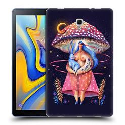 51NML3SscVL - Official Oilikki Mushroom Assorted Designs Soft Gel Case Compatible for Samsung Galaxy Tab A 10.5 2018
