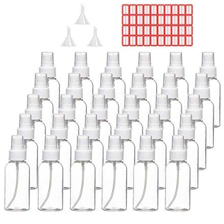 Plastic Clear Spray Bottles