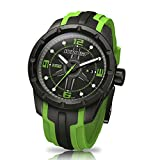 Black and Green Swiss Sport Watch Wryst ES30