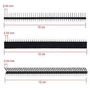 AUSTOR-100-Pcs-PCB-Board-Kit-Including-30-Pcs-PCB-Boards-30-Pcs-40-Pin-254mm-Header-ConnectorBonus-10-Pcs-2P3P-Terminal-Blocks-and-30-Pcs-Caps