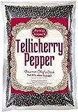 Spicy World Whole Black Peppercorns Tellicherry 16 Oz - Steam Sterilized -Non-GMO Black Pepper - Grinder Refill