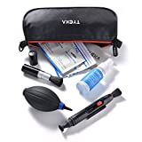 Tycka Camera Cleaning Kit TK004 (with Waterproof Bag), 30ml Non-Toxic Alcohol-Free Cleaning Solution, Improved uni-Body air Blower, lenspen, Microfiber Cleaning Cloth for DSLR, Lens and Electronics
