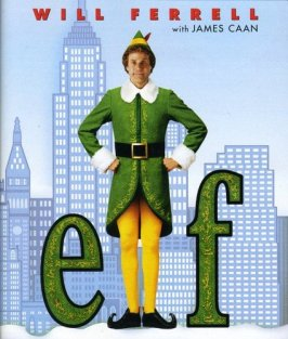 movie night with neighbors, Elf the movie, Holiday party