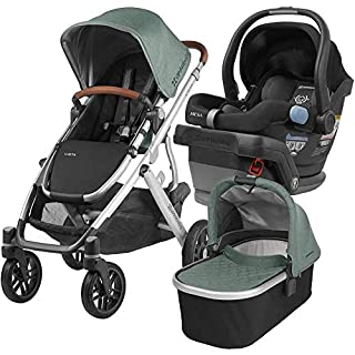 The VISTA stroller is the perfect solution for growing families. It accommodates your little one from birth to the toddler years. The versatile design allows for multiple configurations to transport up to 3 children- all while strolling like a single...