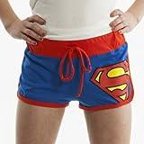 Bioworld Juniors Girls DC Comics Booty Shorts - X-Large - Superman