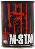 Animal M-Stak - Non-Hormonal Hard Gainers Muscle Building Stack with Energy Complex - 21 Count