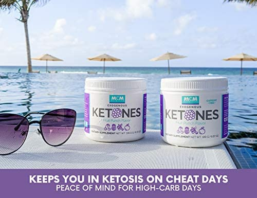 MCM Nutrition - Exogenous Ketones Supplement & BHB - Caffeine Free and Suppresses Appetite - Instant Keto Mix That Puts You into Ketosis Quick & Helps with The Keto Flu (Fruit Punch - 15 Servings) 5