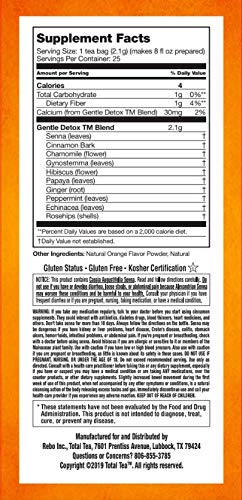 Total Tea Caffeine Free Detox Tea - All Natural - Slimming Herbal Tea for Gentle Cleansing - 25 Tea Bags 9
