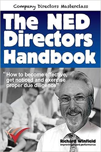 The NED Directors Handbook