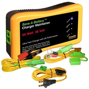Battery Saver 2365-36 36V 50W Quick Charger and Auto Pulse Maintainer