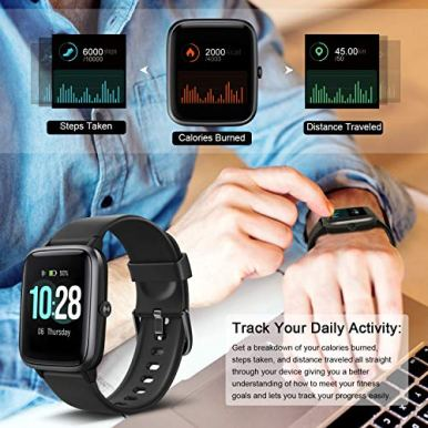 Letsfit-Smart-Watch-Fitness-Tracker-with-Heart-Rate-Monitor-Activity-Tracker-with-13-Touch-Screen-IP68-Waterproof-Pedometer-Smartwatch-with-Sleep-Monitor-Step-Counter-for-Women-and-Men