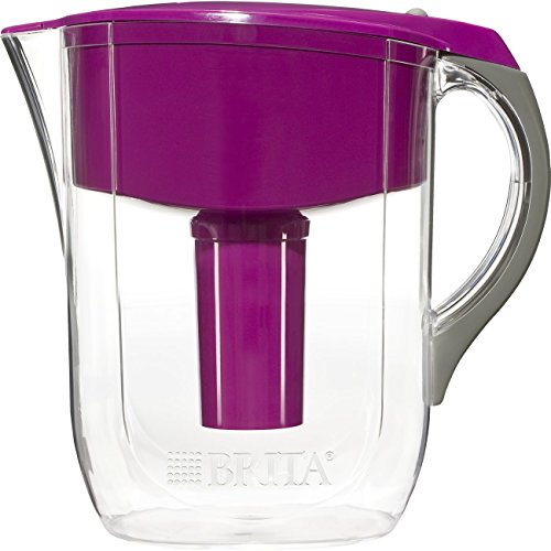 Brita Large 10 Cup Grand Water Pitcher with Filter - BPA Free - Violet