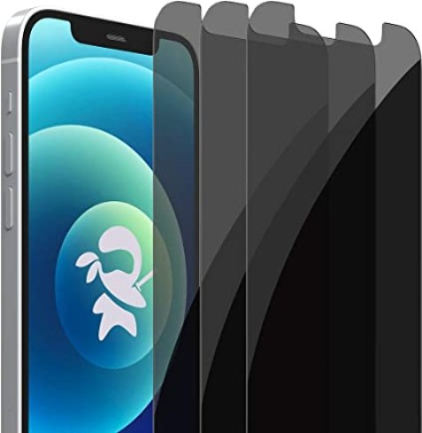 Amazon.de: PrivacyNinja Sichtschutz-Displayschutz für iPhone 12 / iPhone 12 Pro [New Generation] Voll abdeckendes gehärtetes Glas (3er-Pack)