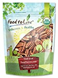 Food to Live Organic Pecans (Raw, No Shell, Kosher) (3 Pounds)