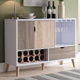Product review for Furniture of America Beler Mid-Century Modern Multi-colored Storage Buffet