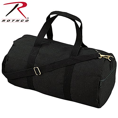 Rothco 19' Canvas Shoulder Bag (Black)