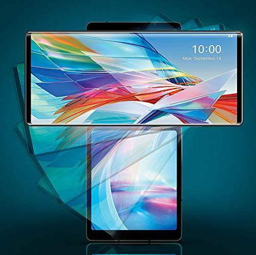 51Nn%2Bnte0XL - LG Wing with Swivel Mode (Aurora Gray, 8GB RAM, 128GB Storage)