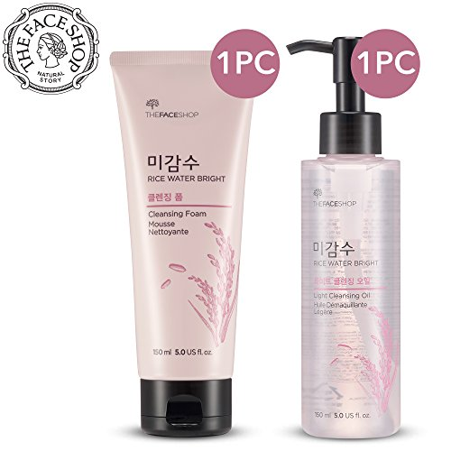 The Face Shop Rice Water Bright Cleansing Foam & Light