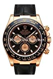 Product review of Rolex Daytona Pink Gold Strap Watch, Bronze Arabic Dial