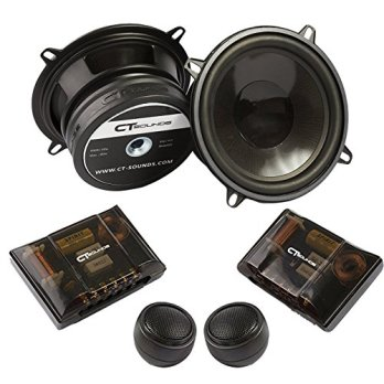 CT Sounds Strato 5.25 inch Component Full Range Car Speaker Set - Pair