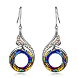 Kate Lynn Earrings for Women Jewelry for Colorful Crystals from Swarovski Women Phoenix Drop Earrings Dangle Hypoallergenic Earrings for Anniversary Birthday Christmas Gift Ladies Gift for Wife Her