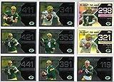 2008 Topps Chrome Football Brett Favre Flight to 420 Insert Lot Of 34 Cards With 2 Refractors