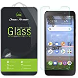 [2-Pack] Dmax Armor for Alcatel TCL A1 (A501DL) Tempered Glass Screen Protector